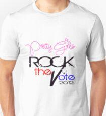 Pretty Girls Rock the Vote T-Shirt
