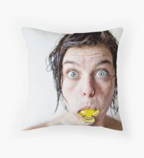 Catch & Release Throw Pillow