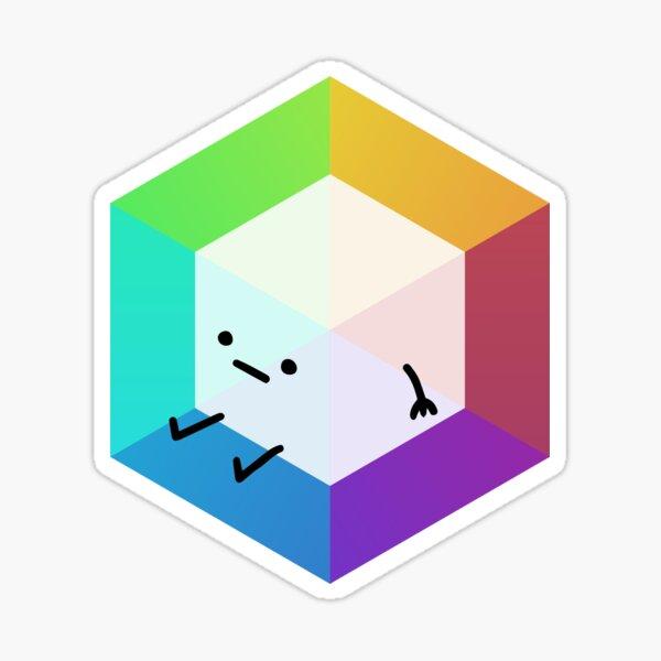 Prism Party Cubey Sticker