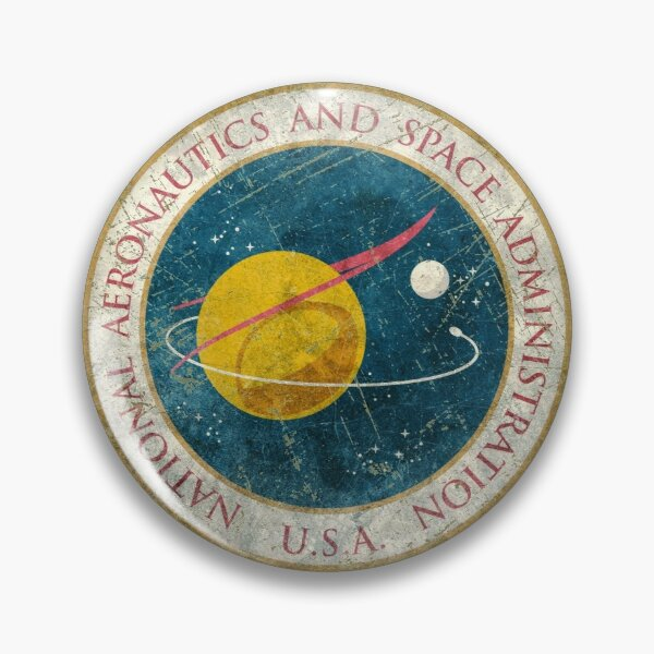 NASA Vintage Seal Pin