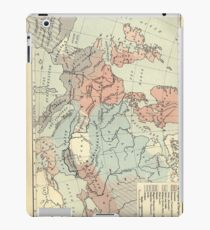 Vintage Map of Europe (1911) iPad Case/Skin