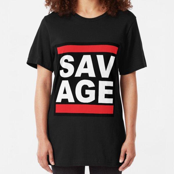 SAVAGE Slim Fit T-Shirt