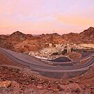 Dawn at Hoover Dam by hinting