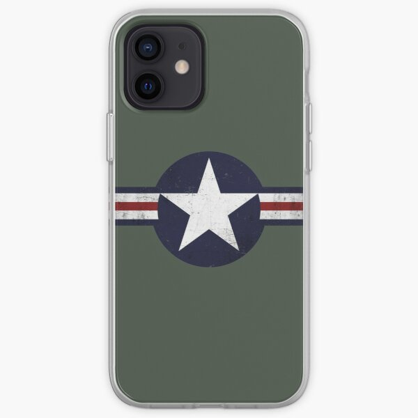 Roundel of the USAF distressed iPhone Soft Case