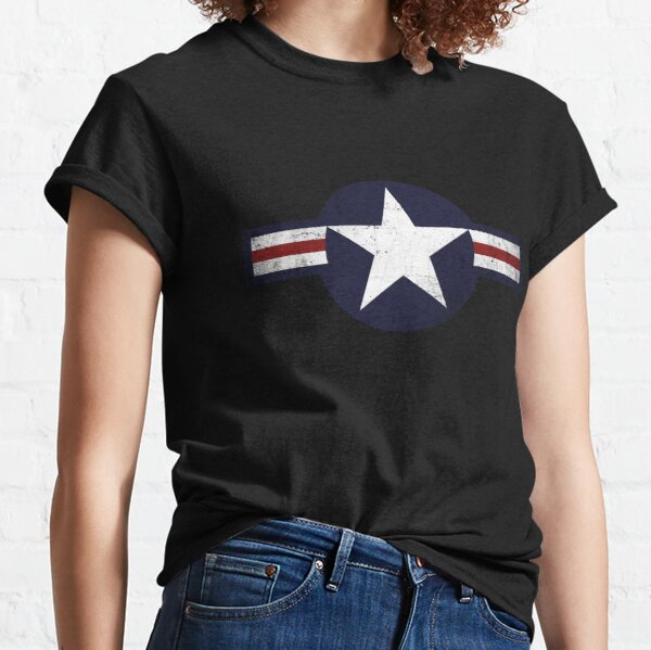 Roundel of the USAF distressed Classic T-Shirt