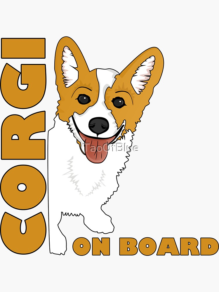 Corgi On Board by TaoOfBlue