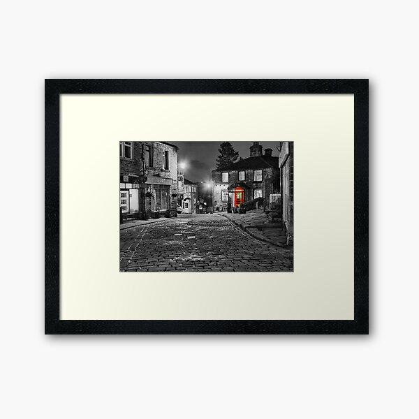 Haworth West Yorkshire - HDR Framed Art Print