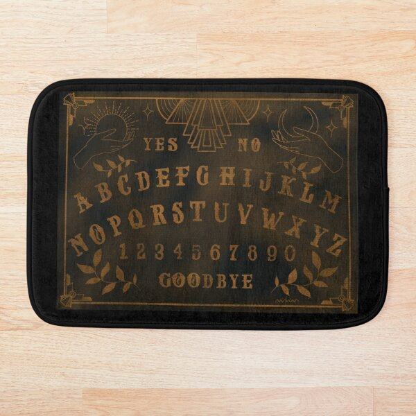 Art Deco Ouija Board Bath Mat