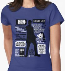 Doctor Who - 12th Doctor Quotes Womens Fitted T-Shirt