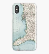 Old caribbean map design illustration iphone cases skins for vintage southeastern us and caribbean map 1900 iphone caseskin sciox Image collections