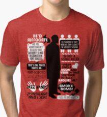 Archer - Dr. Algernop Krieger Quotes Tri-blend T-Shirt