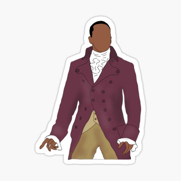 Aaron Burr Hamilton Sticker