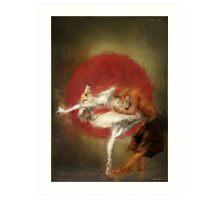 fox ballet Art Print