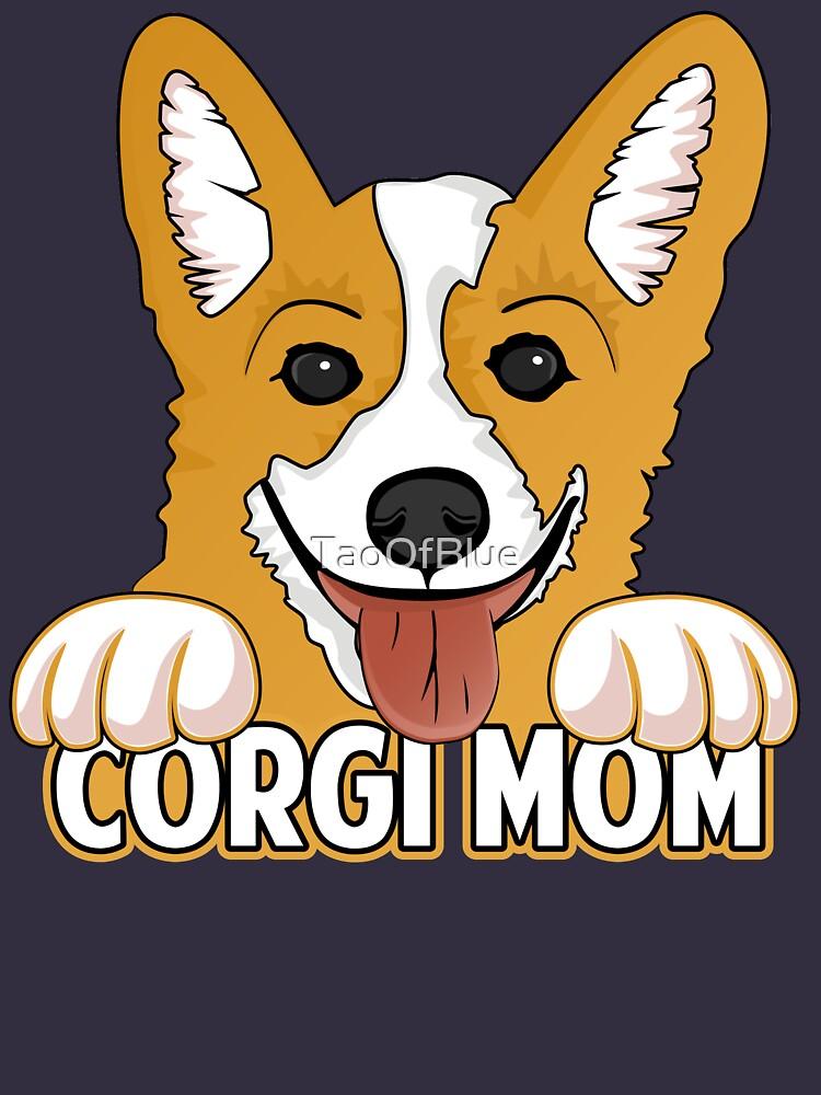 Corgi Mom by TaoOfBlue