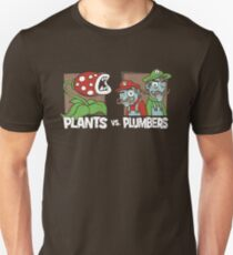 Plants Vs Plumbers Unisex T-Shirt