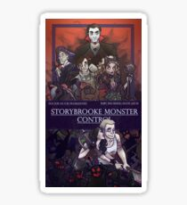 Storybrooke Monster Control Sticker