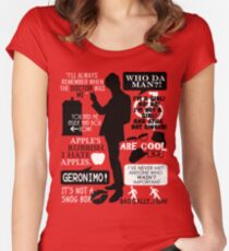 Doctor Who - 11th Doctor Quotes Women's Fitted Scoop T-Shirt