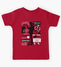 Doctor Who - 11th Doctor Quotes Kids Tee