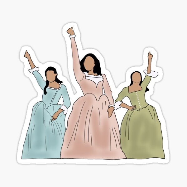 Las hermanas Schuyler Pegatina