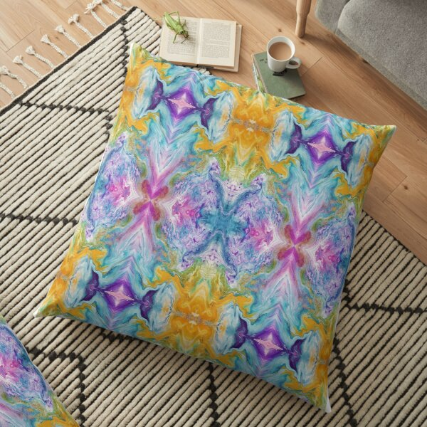 Temperance Kaleidoscope Floor Pillow