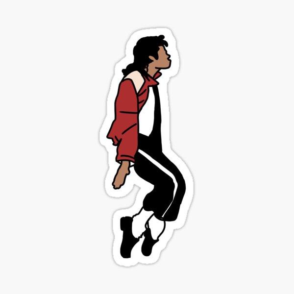 Micheal Jackson Sticker