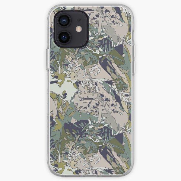 Blended Jungle  iPhone Soft Case