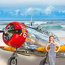 Miss Madison Louise - beach warbird by Mark Greenmantle
