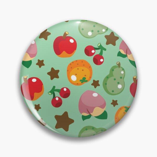 Animal Crossing Fruits Pattern Pin