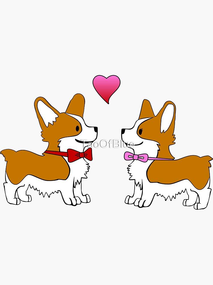 Corgi Love by TaoOfBlue