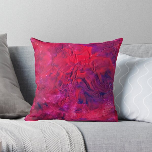 Designed by Theo Throw Pillow