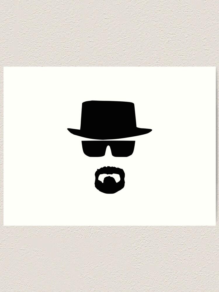 "heisenberg poster shirt walter white art print BREAKING BAD 1/"" PINS BUTTONS"