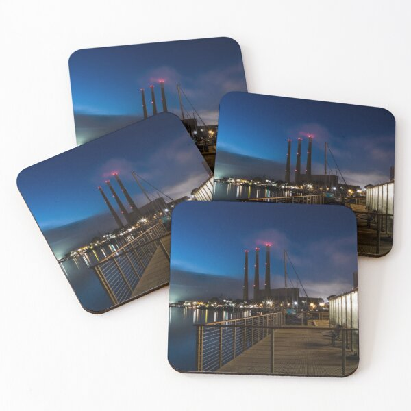 """""""Cold Front"""" Coasters (Set of 4)"""
