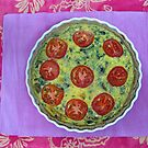 20/1 Herb and Mushroom Quiche by Evelyn Bach