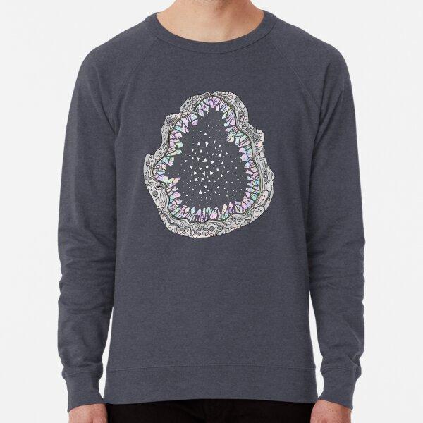 Holo Crystal Space Geode Lightweight Sweatshirt