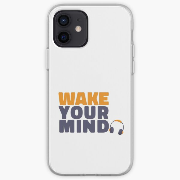 Wake Your Mind (with music) iPhone Soft Case