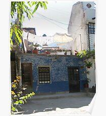 House at the River Cuale - Casa cerca del Rio Cuale Poster