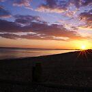 Beach sunset by Ben  Warren
