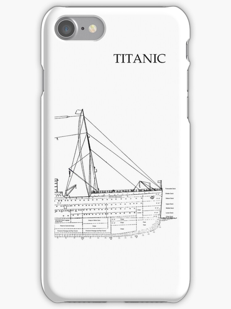 Titanic iphone No.1 by Chris Cardwell