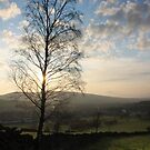 Sunset over Old Glossop by Mark Smitham