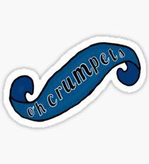 Oh Crumpets Sticker