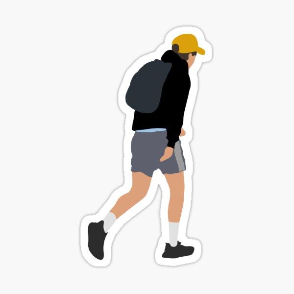 Harry taking a stroll Sticker