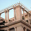 Ionic And Corinthian Columns by Fara