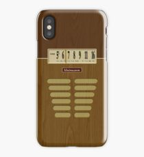 Pre-Transistor Radio - Condor iPhone Case/Skin