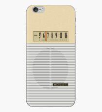 Transistor Radio - Gilligan's Desert Isle Model iPhone-Hülle & Cover