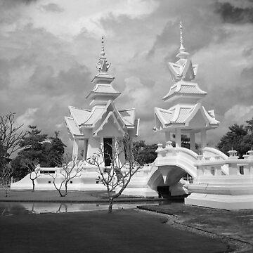 Wat Rong Kun by Phoonaz