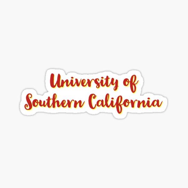 USC  Sticker