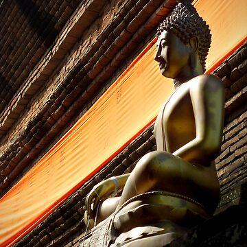 The Buddha by Phoonaz