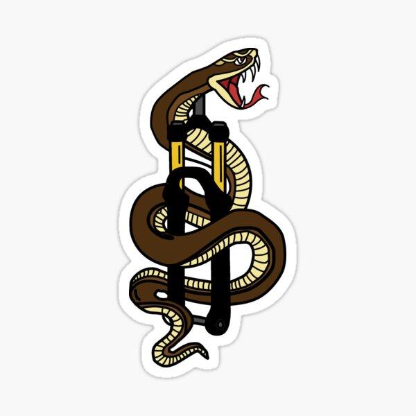 Snake Fork Sticker
