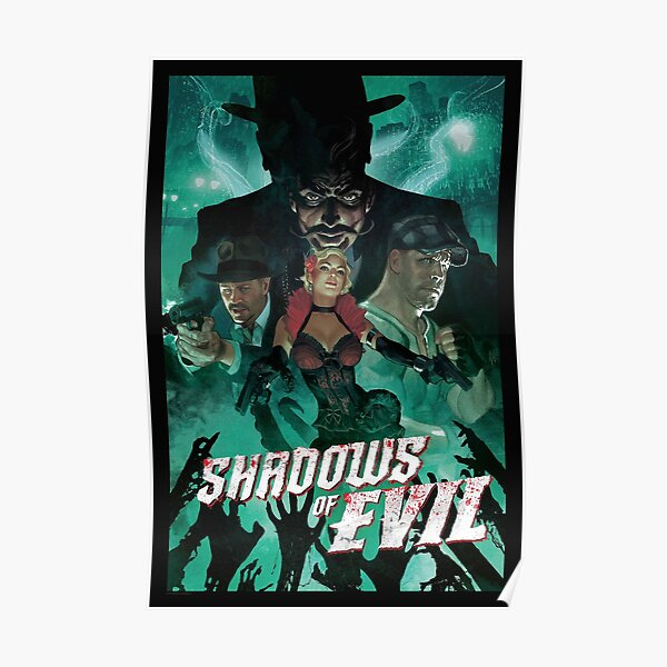 Shadows of evil  Poster