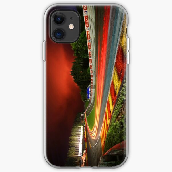 Spa Francorchamps at night iPhone Soft Case